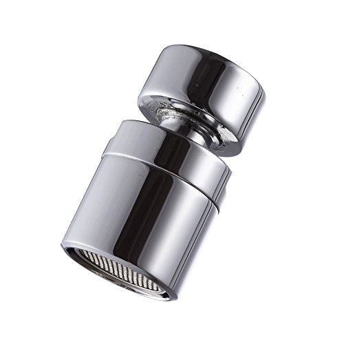Swivel Aerator For Kitchen Faucet: KES BRASS 20mm Female Threaded Aerator 360 Degree Swivel
